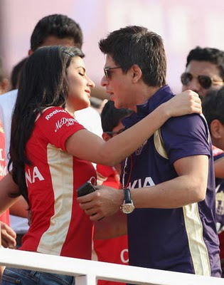 Katrina Kaif and Shahrukh Khan Pictures