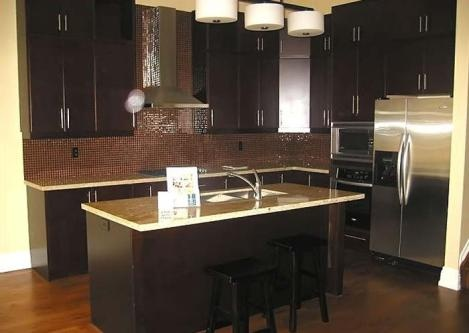Gabinetes de cocina negros muy elegantes cocina y muebles for Estilo de gabinete de cocina