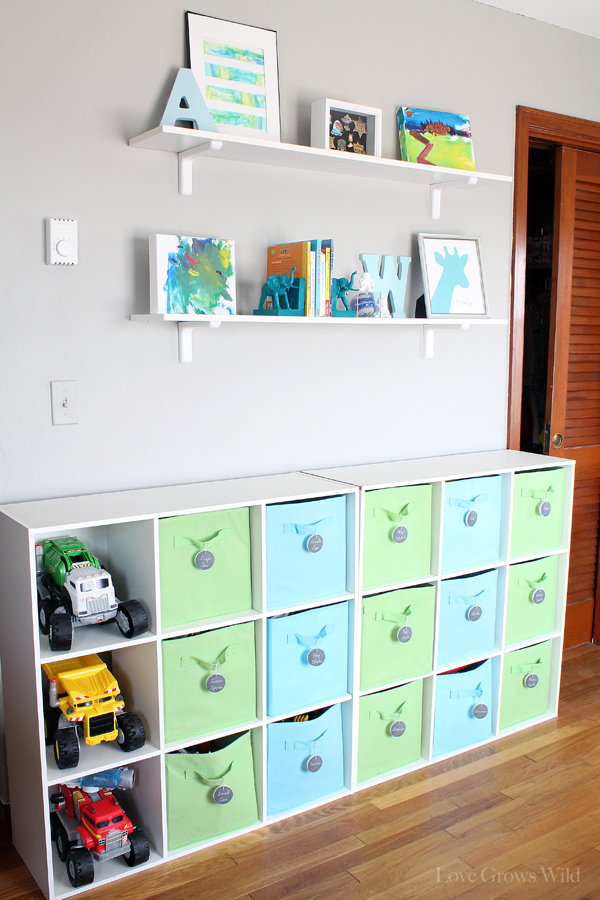 playroom shelf playroom makeover room reveal love grows wild