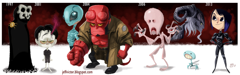 evolution Guillermo del Toro
