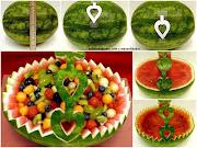Frutas collage de frutas vegetales listas para comer