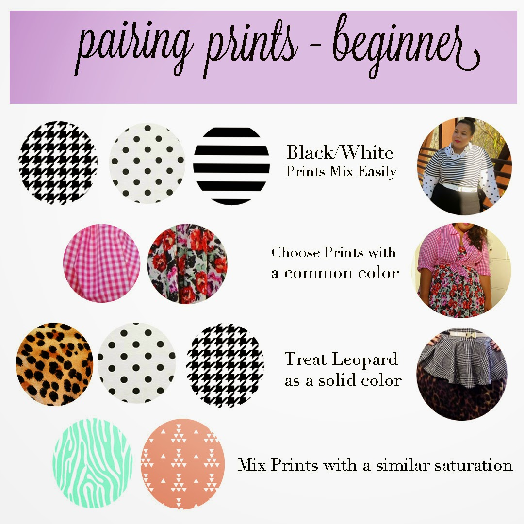 Mixing Prints for beginners