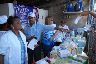 Comando Nacional de Salud realiza operativo medico en Los Guarícanos en apoyo a Papá