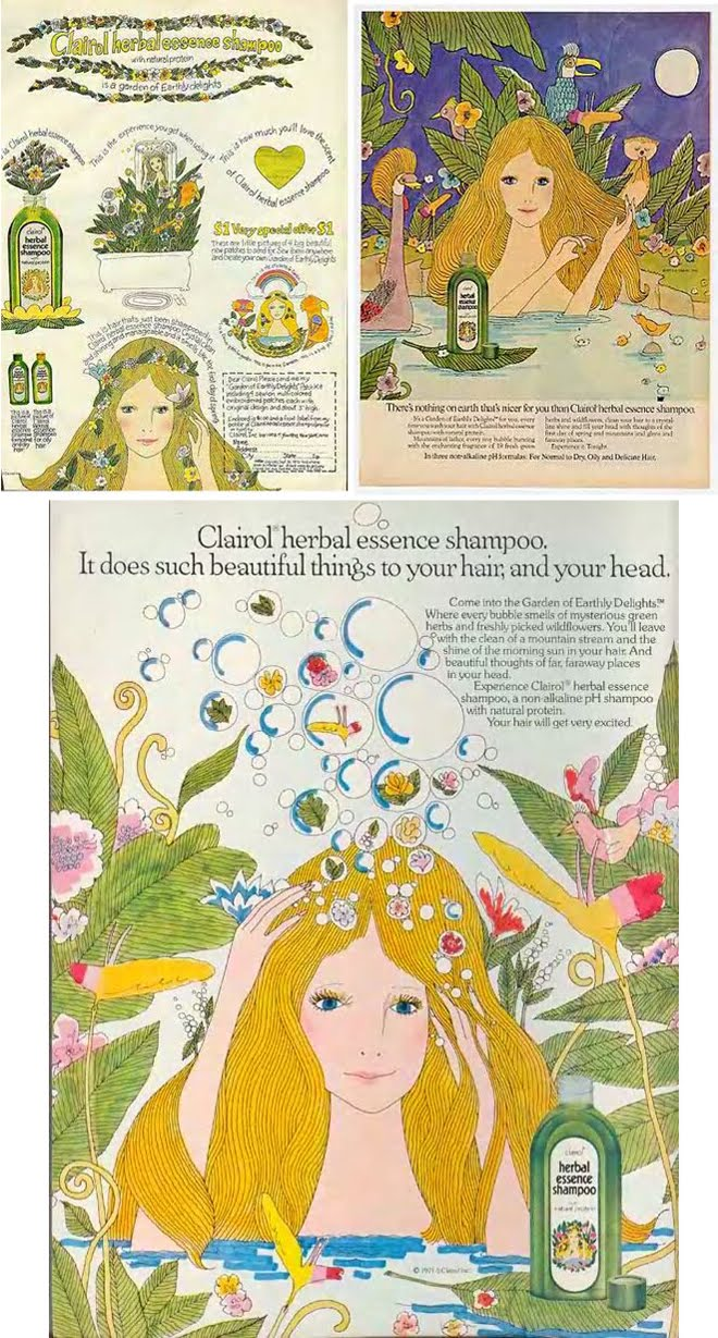 Clairol Herbal Essence Shampoo: