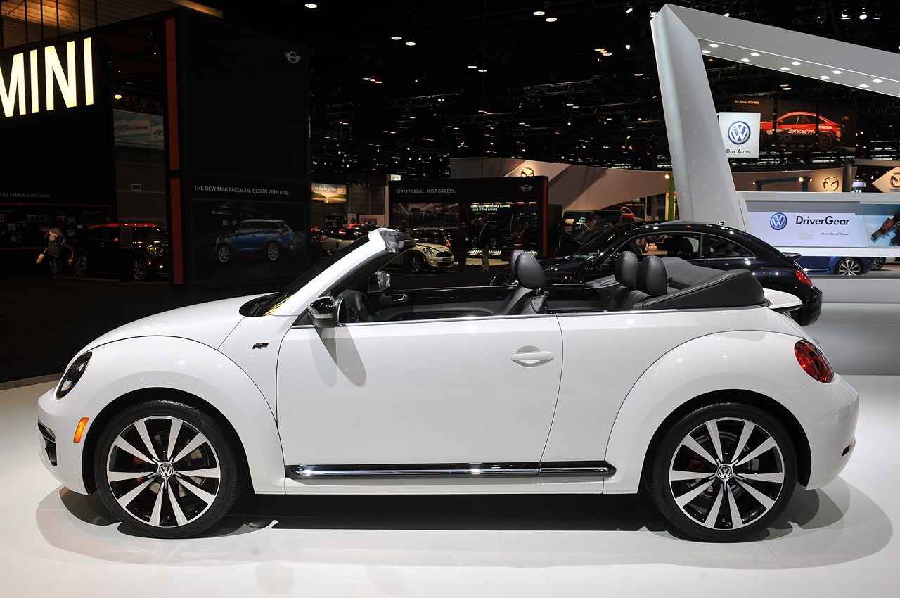automotiveblogz 2014 volkswagen beetle convertible r. Black Bedroom Furniture Sets. Home Design Ideas
