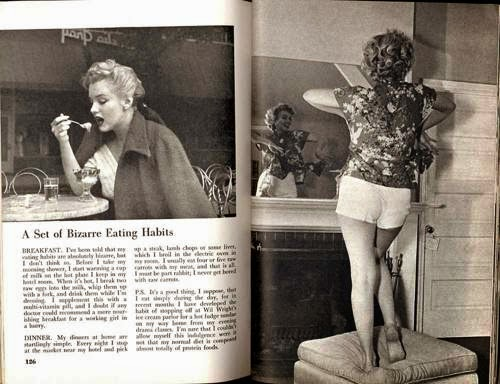 Pageant Magazine Marilyn Monroe movieloversreviews.filminspectorl.com