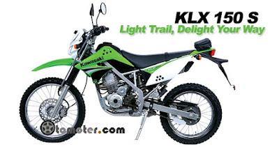 Harga pasaran kawasaki klx 150 s, harga motor kawasaki klx 150 bekas, harga bekas kawasaki klx 150 s