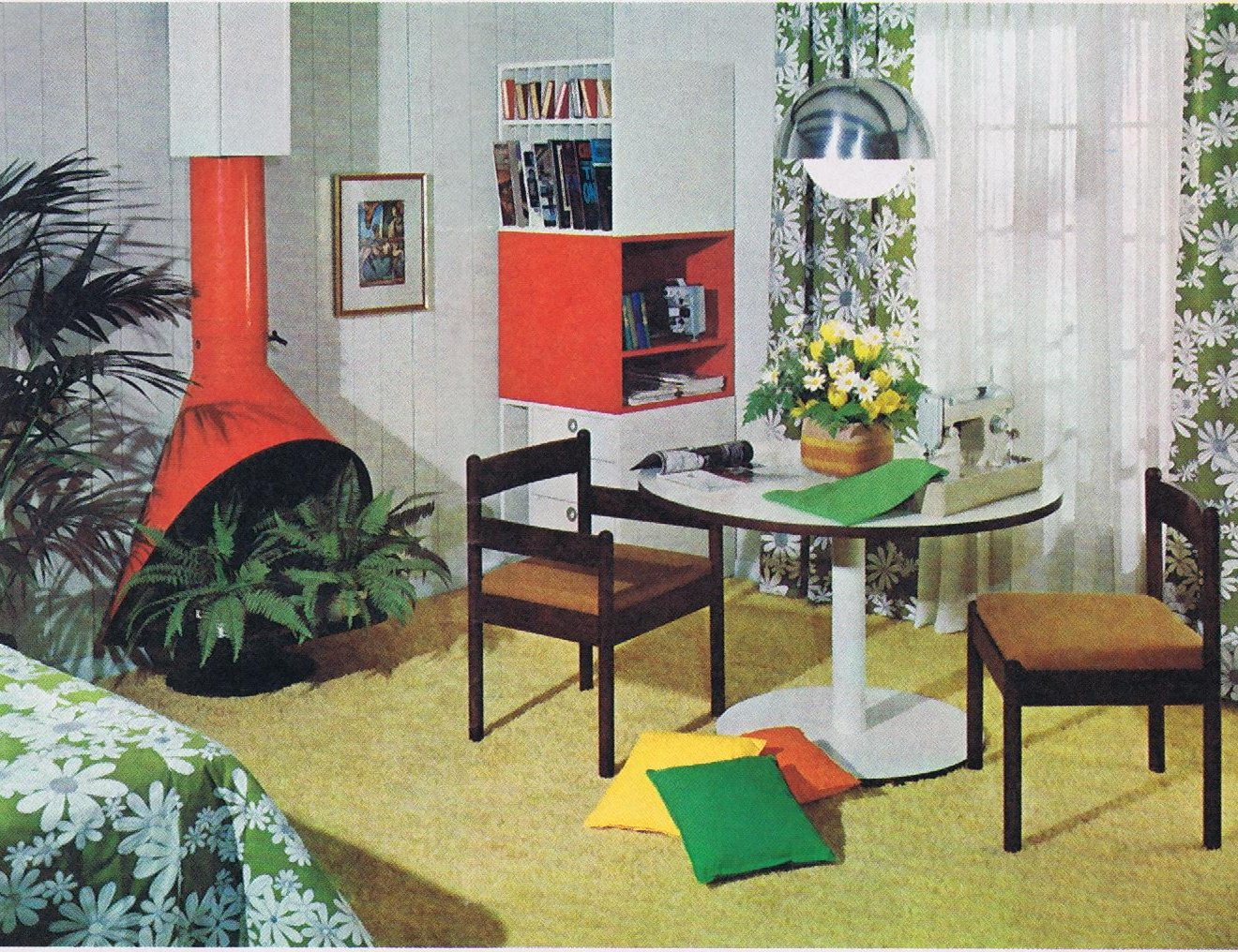1000 images about mod vintage home decor on pinterest for 60s office design