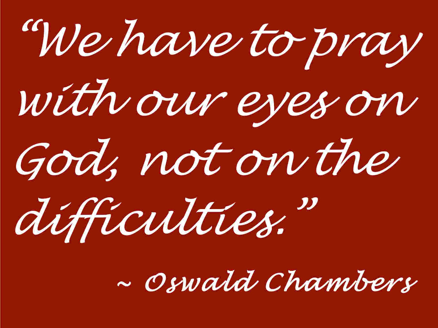 Espoused to Him: Praying through our difficulties...