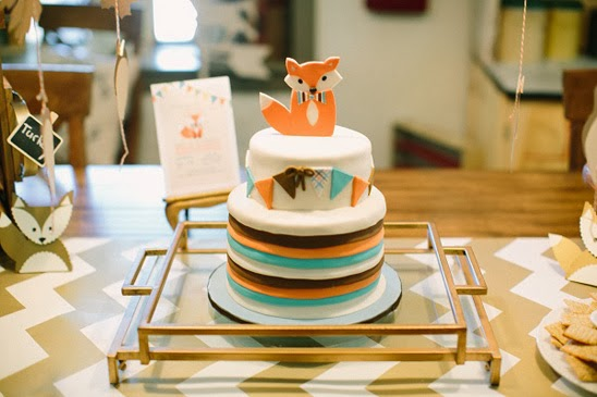 What Does The Fox Says... { Fox Baby Shower }