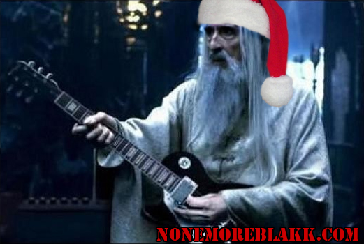 heavy metal xmas songs from christopher lee - Heavy Metal Christmas Music