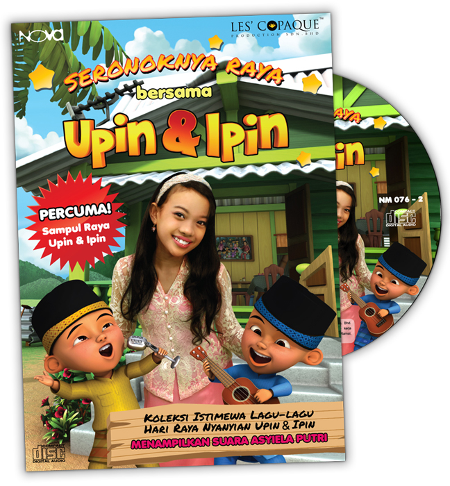 Upin & Ipin - Suasana Di Hari Raya [Official Video]