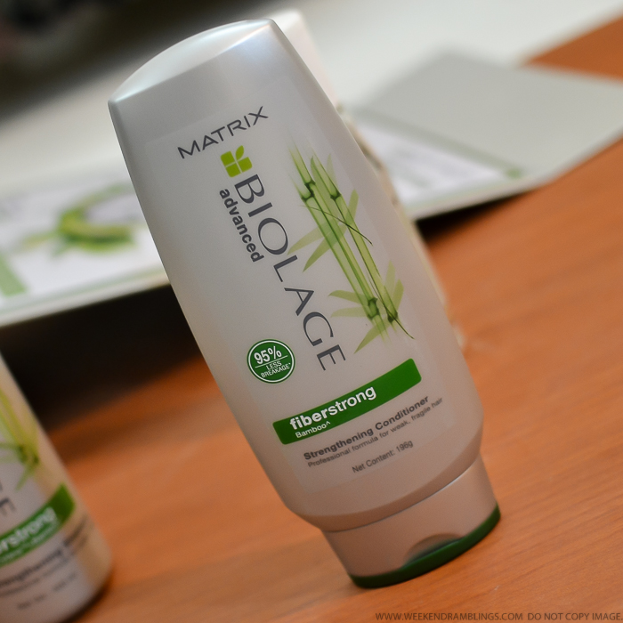 Matrix Biolage Advanced Fiberstrong Haircare Strengthening Shampoo Conditioner Deep Smoothing Serum Review Indian Beauty Makeup Blog