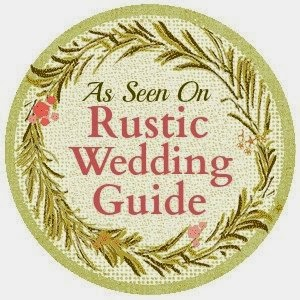 We're on Rustic Wedding Chic Guide