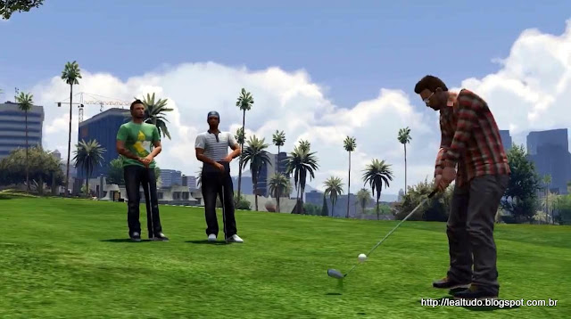 Grand Theft Auto Online Golf Field Group - Campo Partida