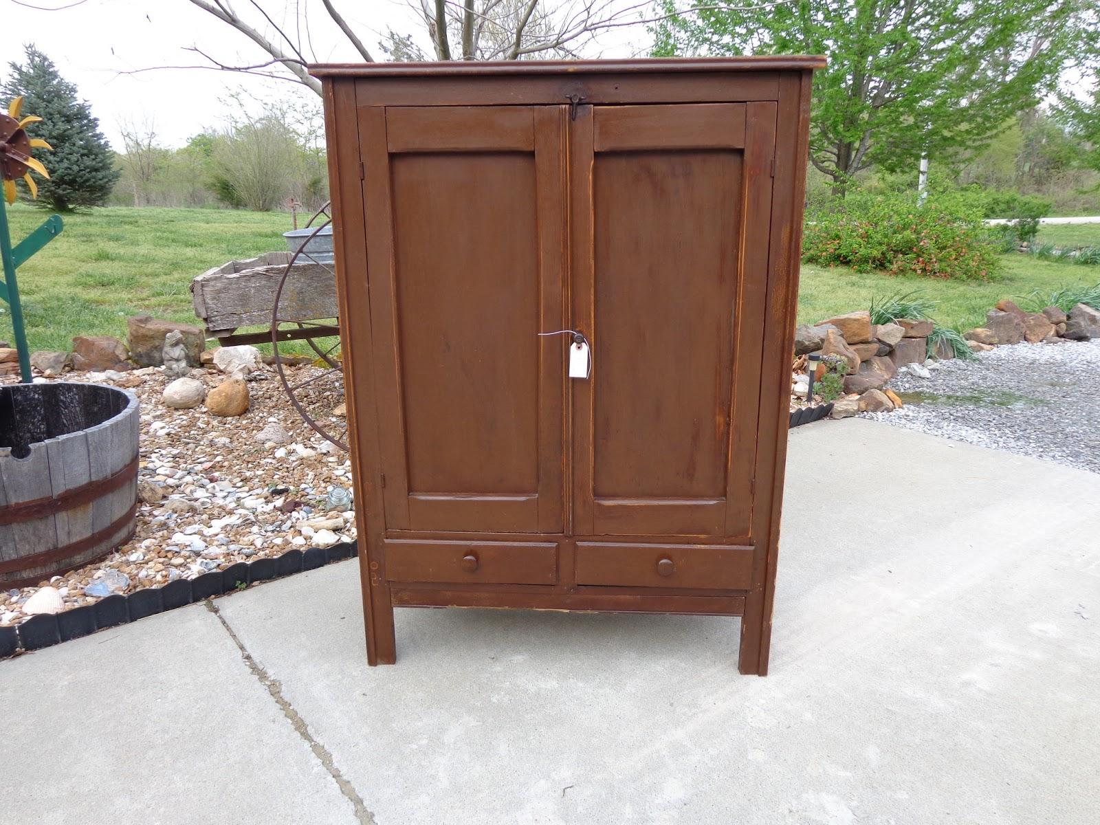 Antique Pie Safe Cabinet