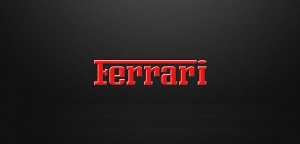 Ferrari Logo font donwload