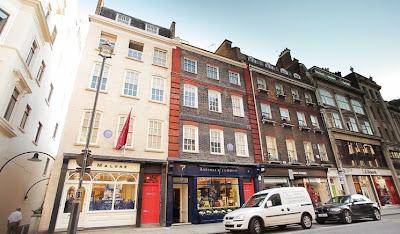 View of Brook Street, London