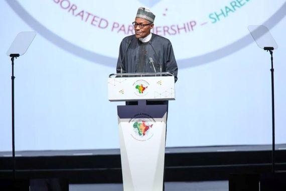 Buhari Addresses World Leaders At 3rd India-Africa Forum Summit ( Photos)