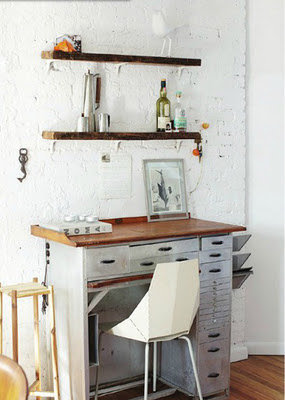 escritorio blanco madera rue mag