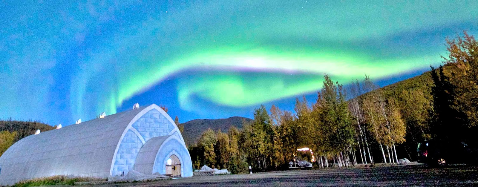 Chena Hot Springs / Aurora Ice Museum, Alaska- Top 10 Coolest Snow Buildings