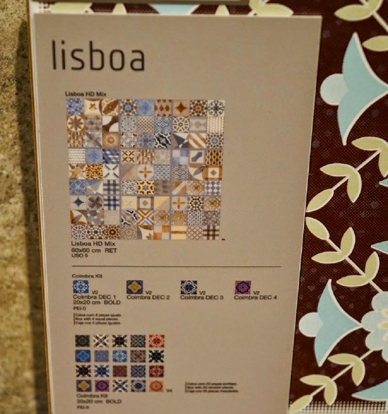 azulejos coloridos da Portinari - Expo Revestir 2014