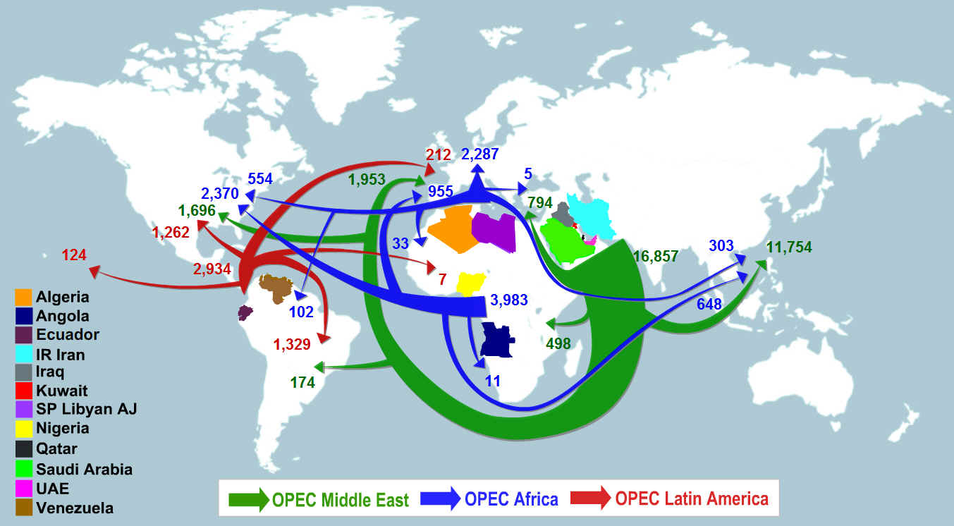 opec formation and influence on It's every country for itself now with opec the catalyst that brought an end to opec as we know it original reason for the formation of opec no longer relevan.