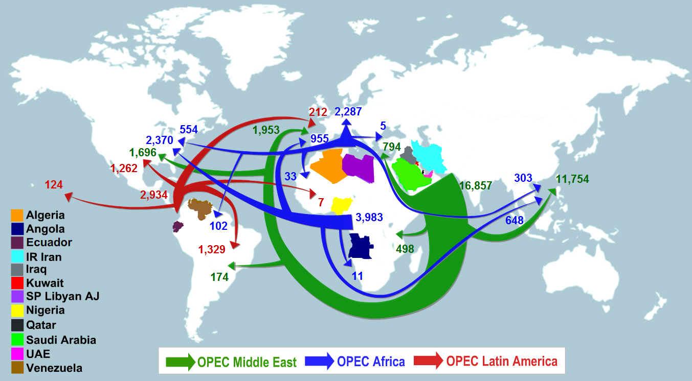 the establishment of the opec and its global economic impact The organization of arab petroleum exporting countries  organization of arab petroleum exporting  its operations on a commercial and economic basis.