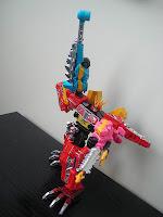 Bandai Minipla Candy Toy Super Sentai Kyoryuger Kyoryuzin Macho Gabutyra Ankydon Dricera