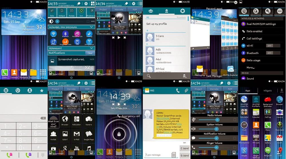 Install ROM Wannabe di Smartfren Andromax C Tearbaru | ROM Gado - Gado!