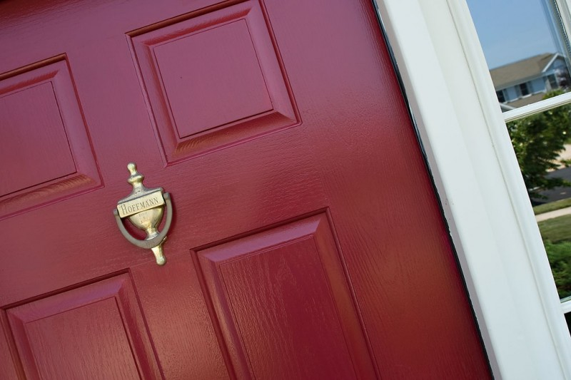 Best Red Paint Color For Front Door