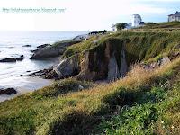 Small cliffs near Tapia de Casariego - Pequeños acantilados en la costa de Tapia de Casariego