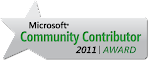 Microsoft Community Award 2011
