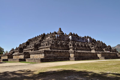 Borobodur Temple complex is one of the greatest monuments in the world