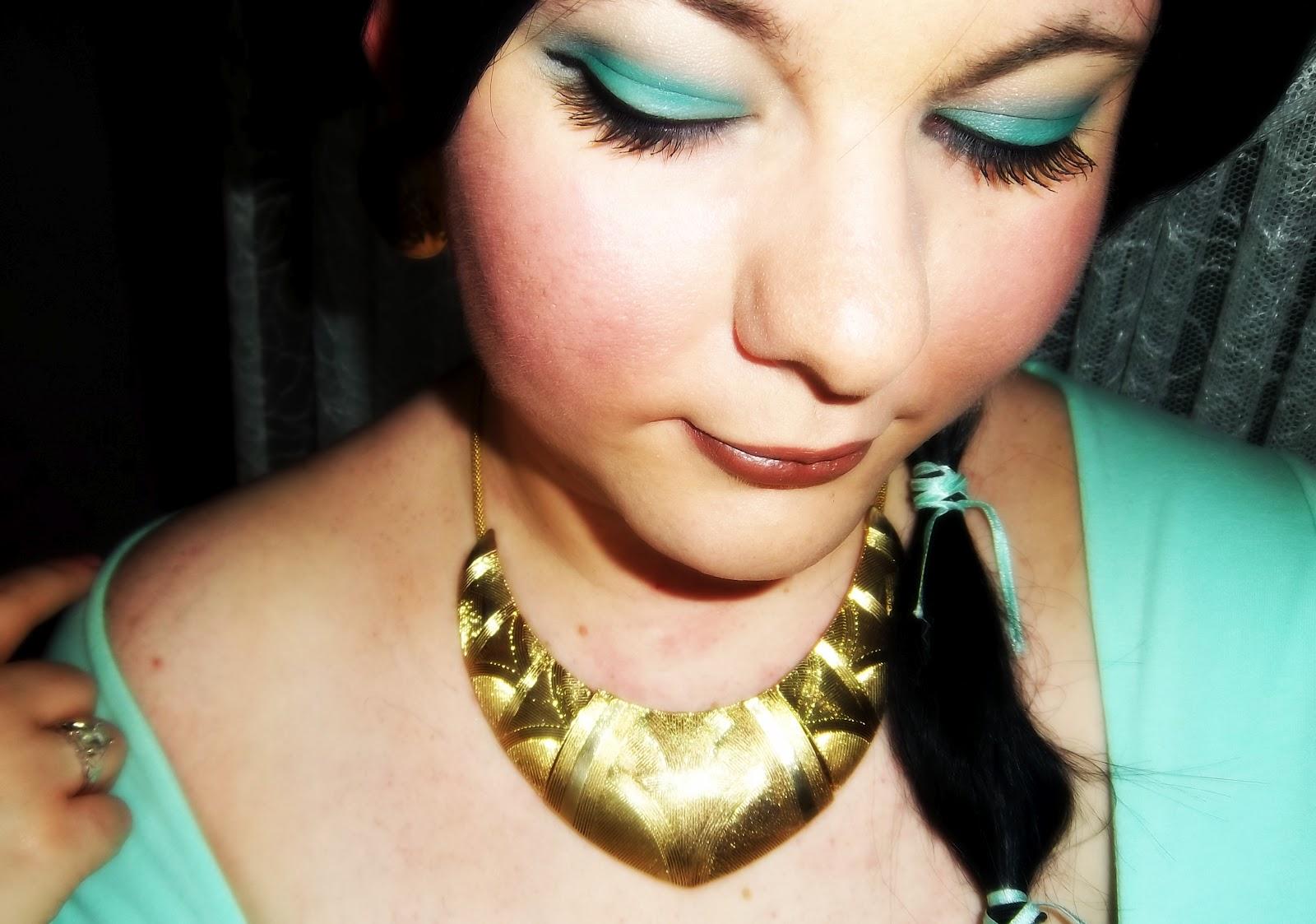 TUTORIAL: JASMINE Disney Princess from Aladdin Makeup