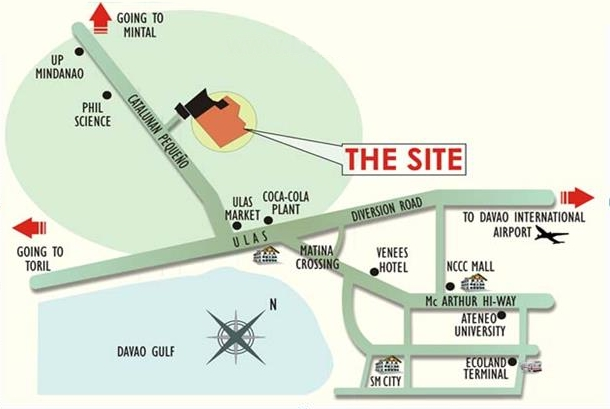 Residencia del Rio Map