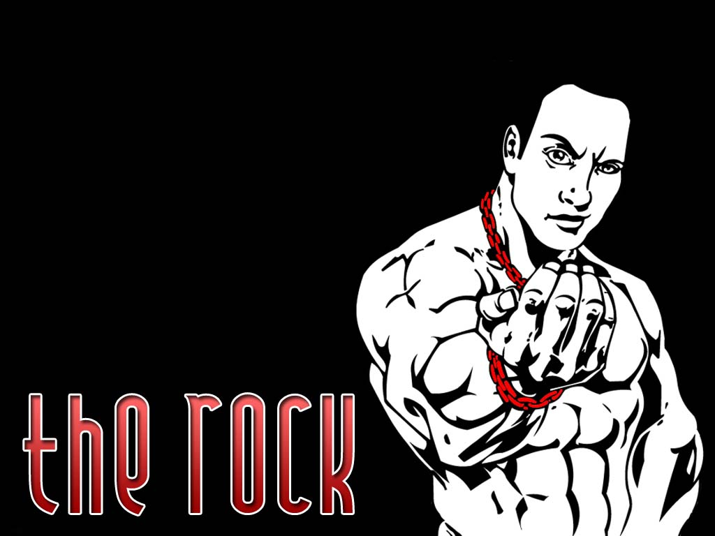 the rock wallpapers wrestling wallpapers