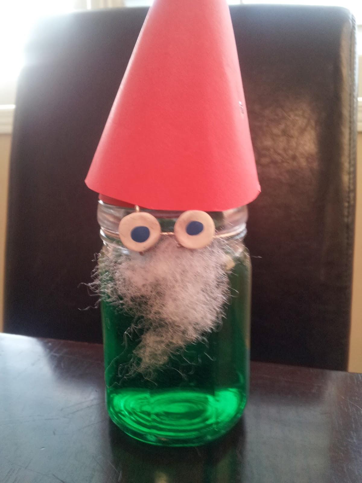 Glass Jar Elf Craft, Christmas crafts, crafts, kids crafts