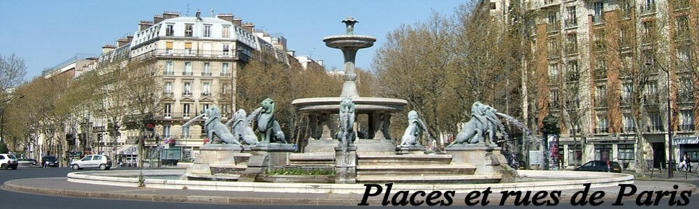 Places et rues de PARIS