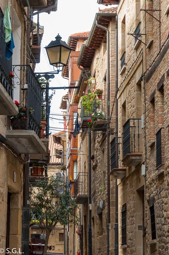 Calles de Laguardia. De excursion a Laguardia