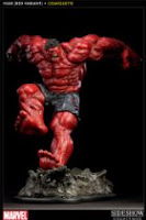 Hiro-Kala Character Review - Red Hulk Statue