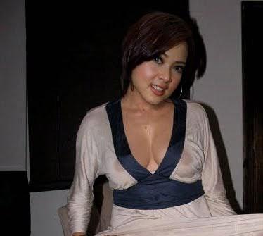 hot photos transparent syahrini wear clothes   celebrities