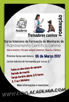Curso Intensivo de Formação de Monitores de Adestramento Científico Canino