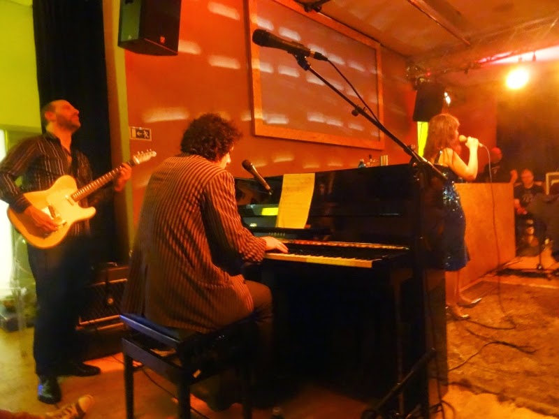 25.04.2014 Dortmund - Schauspielhaus: Elysian Fields / Paul Wallfisch