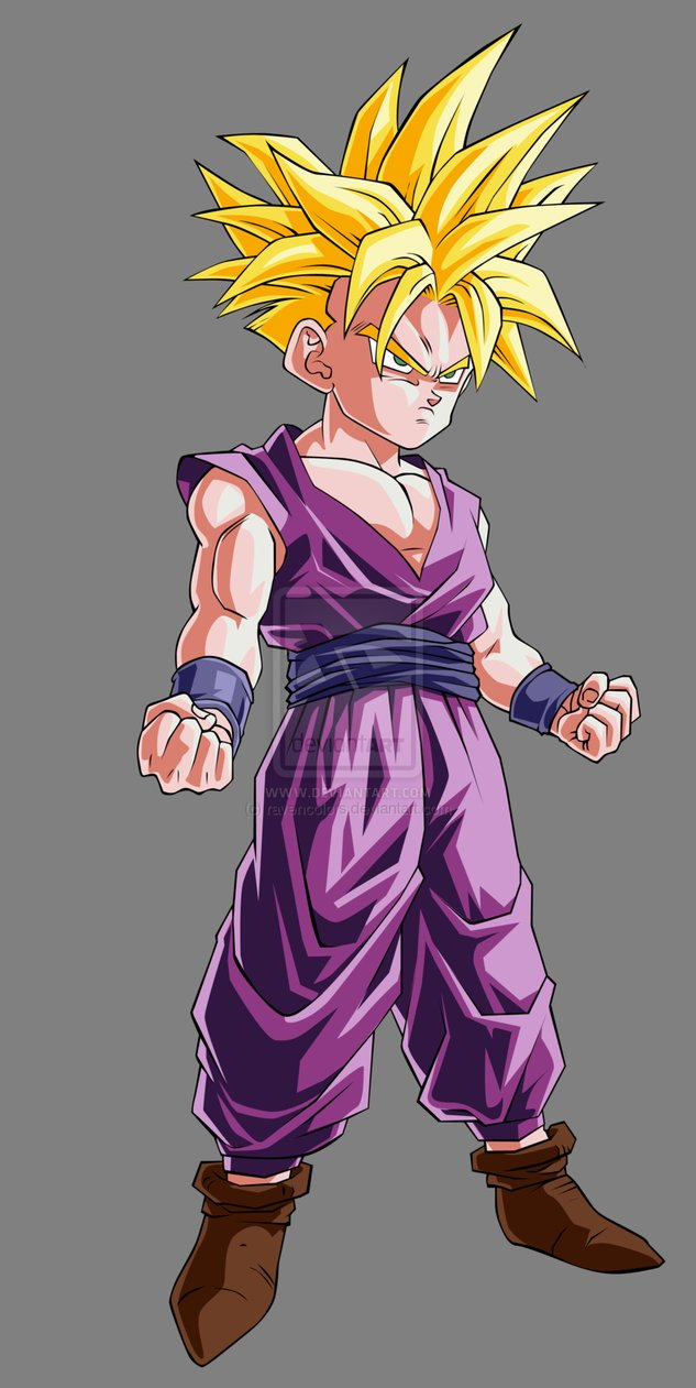Dragon ball z wallpapers teen gohan super saiyan - Son gohan super saiyan 4 ...