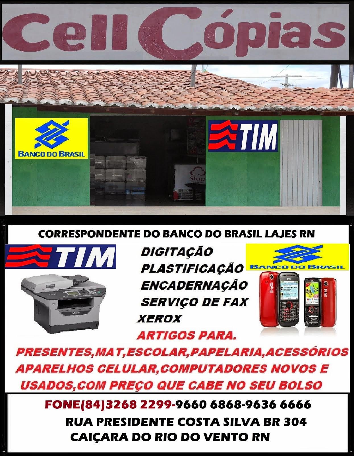 CELL CÓPIAS CAIÇARA DO RIO DO VENTO