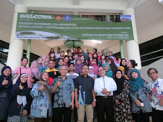 [PRESS RELEASE] UTM-IPB Landscape Design Workshop