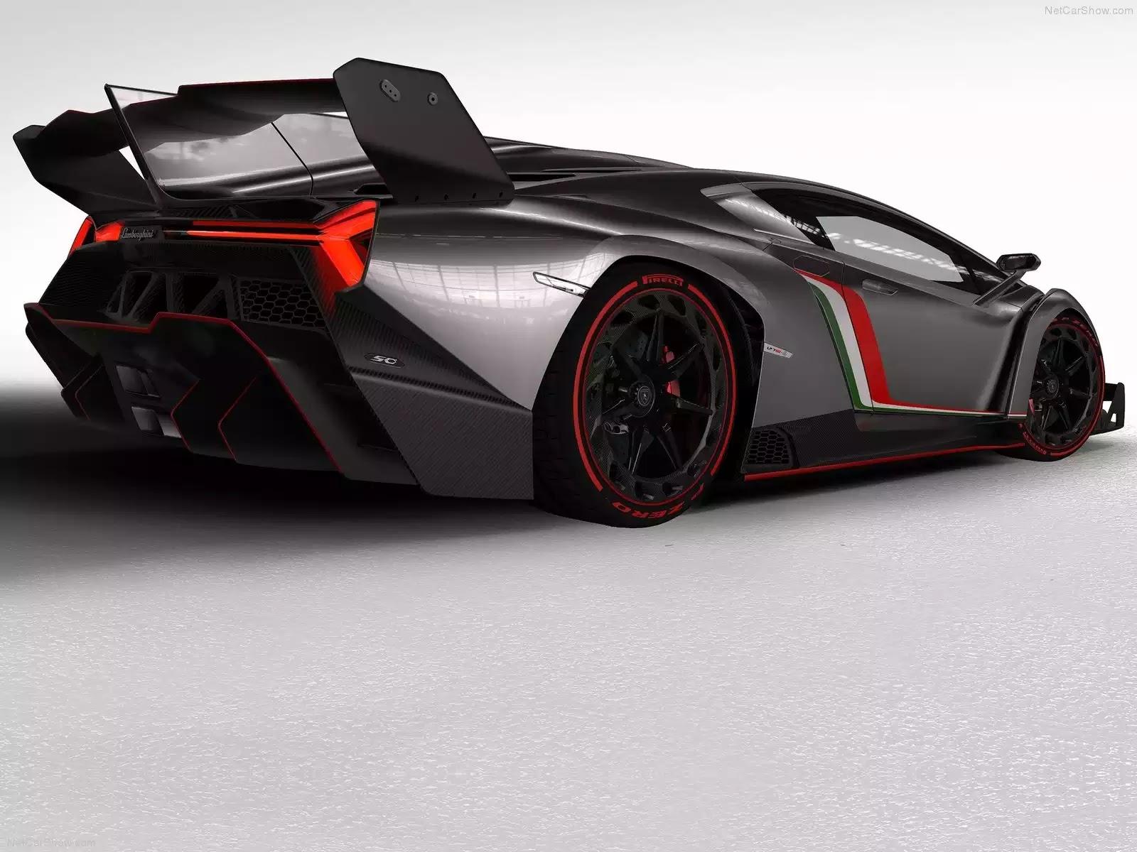 Hình ảnh siêu xe Lamborghini Veneno 2013 & nội ngoại thất