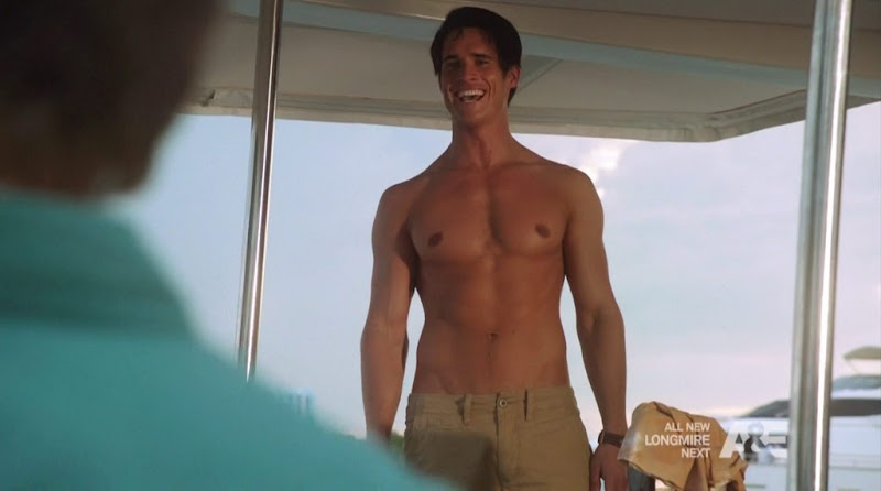 Nick Ballard Shirtless in The Glades s3e06