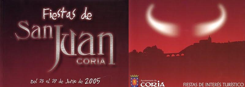 Sanjuanes de Coria 2005
